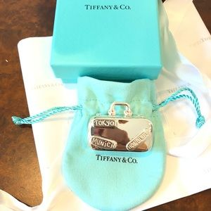 Tiffany & Co Suitcase Pill Case NIB